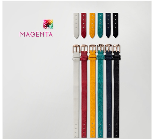 [마젠타 MAGENTA] Magenta Band 10mm Leather Redgold