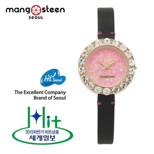 [망고스틴 MANGO STEEN] MS512F 인파 INFA 여성용 가죽시계 27mm 하백의 신부 협찬 시계 ! [한국본사정품]