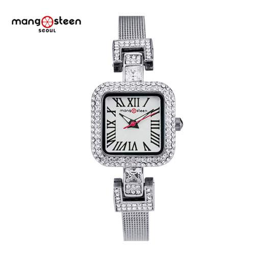 [망고스틴 MANGO STEEN] MS518A 리피 LEEPI 여성용 메탈시계 22X22mm [한국본사정품] 하백의 신부 협찬 시계 !