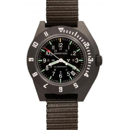 [마라톤 MARATHON] WW194013SG / Navigator with Date-Green