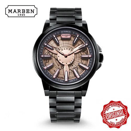 [마르벤 MARBEN] ELF330-22 키네틱 메탈시계 45mm [자스페로코리아 정품] 엘프 뜨루비옹