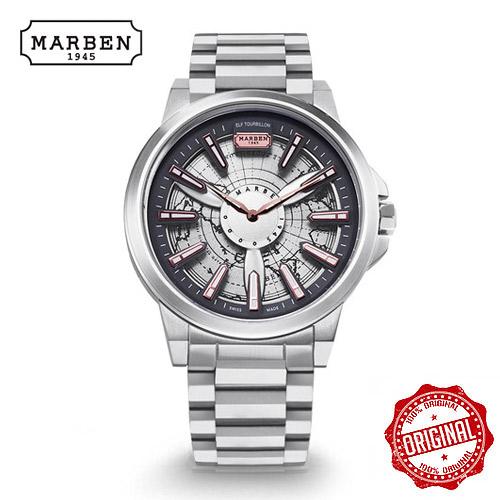 [마르벤 MARBEN] ELF330-26 키네틱 메탈시계 45mm [자스페로코리아 정품] 엘프 뜨루비옹