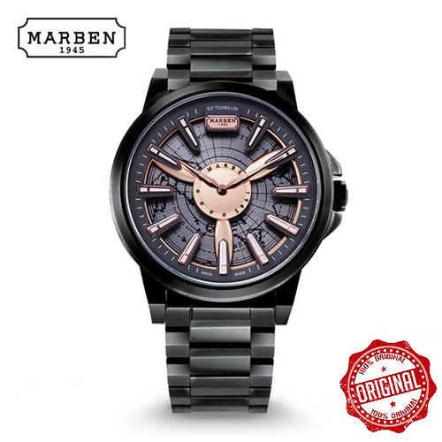 [마르벤 MARBEN] ELF330-27 키네틱 메탈시계 45mm [자스페로코리아 정품] 엘프 뜨루비옹