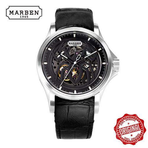 [마르벤 MARBEN] EMSPIDER800-44.LB 가죽시계 43mm [자스페로코리아 정품] 엠스파이더