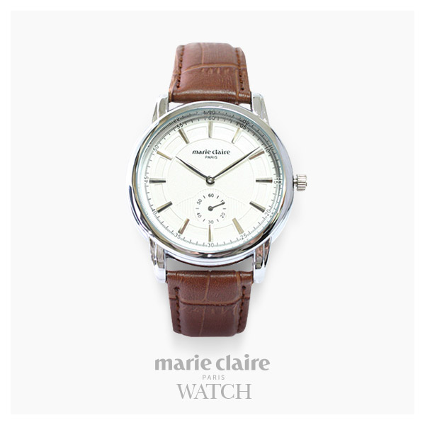 [마리끌레르시계 MARIECIAIRE] MCBB1446SWBR 국내본사 정품 가죽 시계