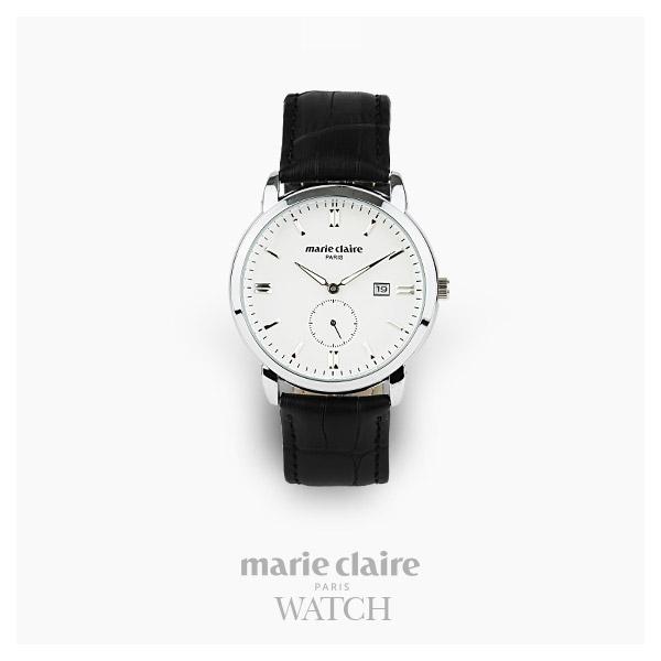 [마리끌레르시계 MARIECIAIRE] MCBB1448GSWB 국내본사 정품 가죽 시계