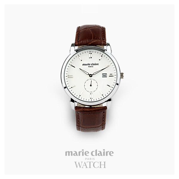 [마리끌레르시계 MARIECIAIRE] MCBB1448GSWDBR 국내본사 정품 가죽 시계