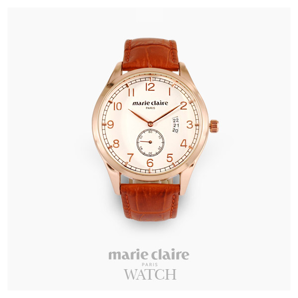 [마리끌레르시계 MARIECIAIRE] MCBB1570GWBR 국내본사 정품 가죽 시계