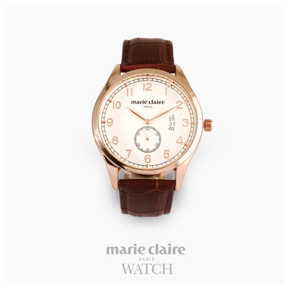 [마리끌레르시계 MARIECIAIRE] MCBB1570GWDBR 국내본사 정품 가죽 시계