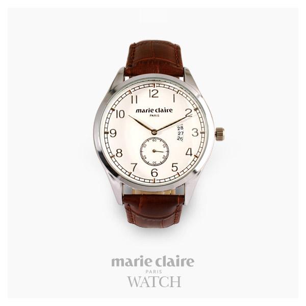 [마리끌레르시계 MARIECIAIRE] MCBB1570SWDBR 국내본사 정품 가죽 시계