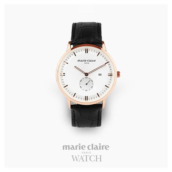 [마리끌레르시계 MARIECIAIRE] MCBB1572GWB 국내본사 정품 가죽 시계