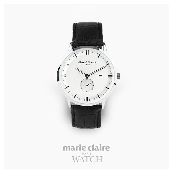 [마리끌레르시계 MARIECIAIRE] MCBB1572SWB 국내본사 정품 가죽 시계