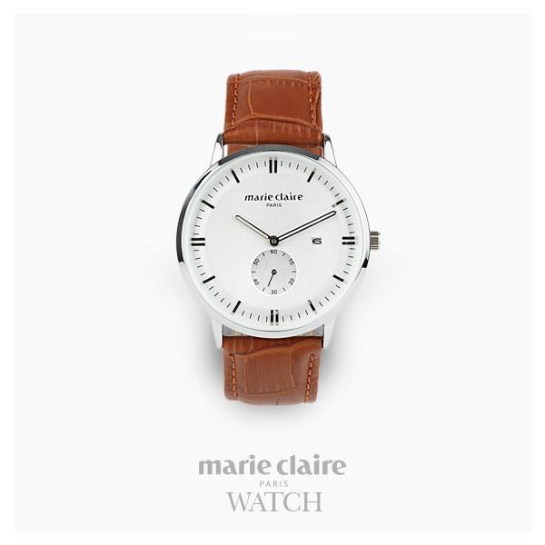 [마리끌레르시계 MARIECIAIRE] MCBB1572SWBR 국내본사 정품 가죽 시계