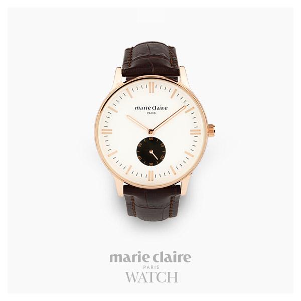 [마리끌레르시계 MARIECIAIRE] MCBB3646GWBR 국내본사 정품 가죽 시계