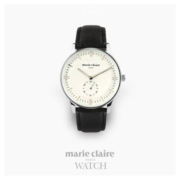 [마리끌레르시계 MARIECIAIRE] MCBB3646SWB 국내본사 정품 가죽 시계