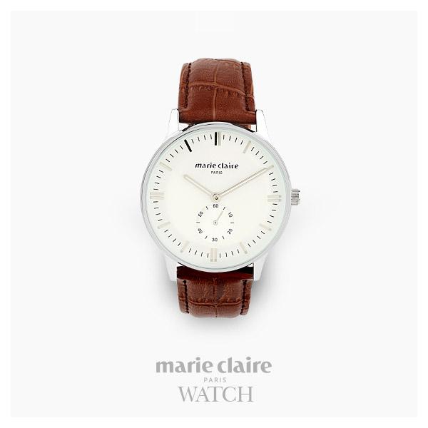 [마리끌레르시계 MARIECIAIRE] MCBB3646SWBR 국내본사 정품 가죽 시계