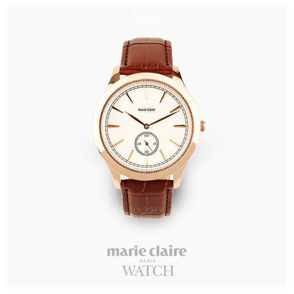 [마리끌레르시계 MARIECIAIRE] MCBB3812GWBR 국내본사 정품 가죽 시계