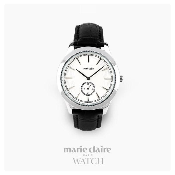 [마리끌레르시계 MARIECIAIRE] MCBB3812SWB 국내본사 정품 가죽 시계