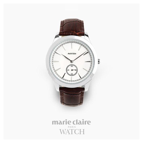 [마리끌레르시계 MARIECIAIRE] MCBB3812SWBR 국내본사 정품 가죽 시계