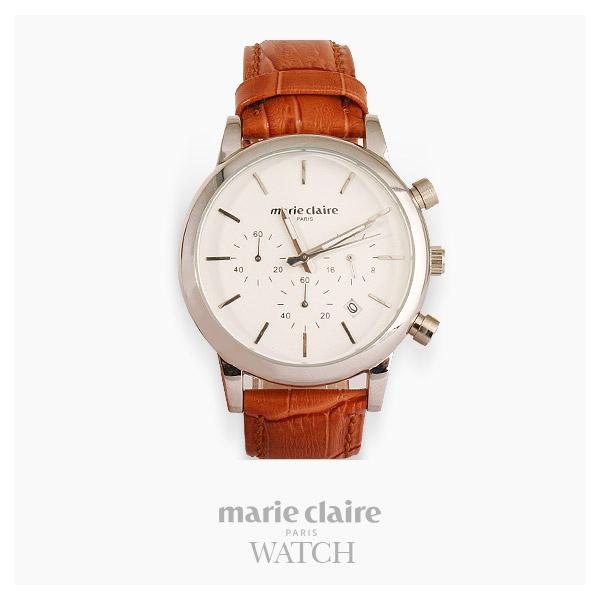 [마리끌레르시계 MARIECIAIRE] MCBB8468SWLBR 국내본사 정품 가죽 시계