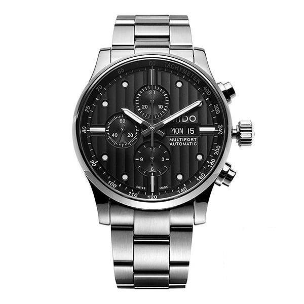 [MIDO 미도] M005.614.11.061.00 (M0056141106100) / MULTIFORT CHRONOGRAPH 남성용 44mm