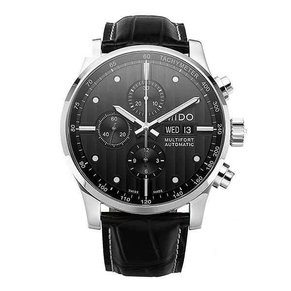 추석-) [MIDO 미도] M005.614.16.061.00 (M0056141606100) / 멀티포트 MULTIFORT Choronograph 44mm