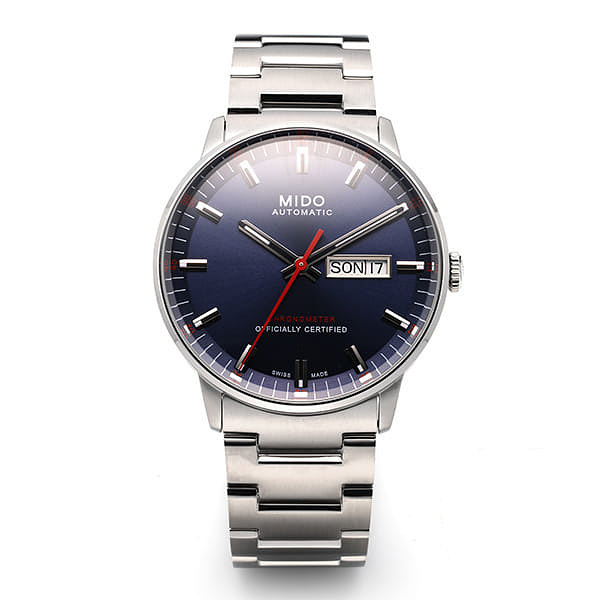 [MIDO 미도] M021.431.11.041.00 (M0214311104100) / COMMANDER II CHRONOMETER 남성용 40mm