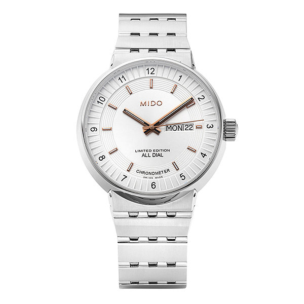 [MIDO 미도] M8340.4.12.1 (M0326073609000) / All Dial Special Edition 남성용 42mm