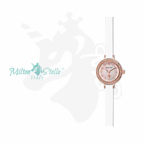[밀튼스텔리시계 MILTONSTELLE] MS-080R 여성 가죽시계 학교2017 설인아 시계
