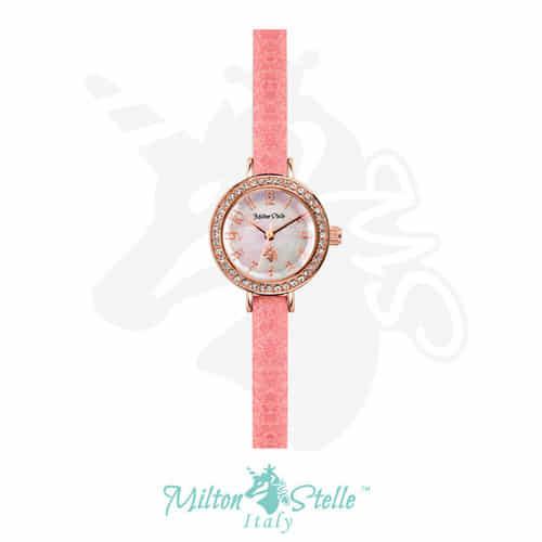 [밀튼스텔리시계 MILTONSTELLE] MS-080RP 수상한파트너 나라(헬로비너스) 착용 시계