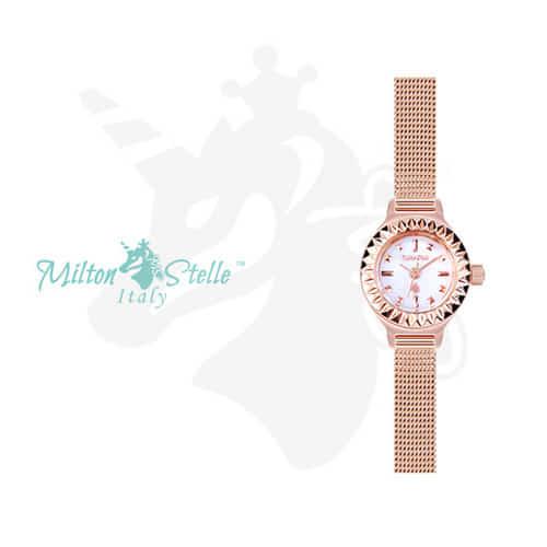 [밀튼스텔리시계 MILTONSTELLE] MS-104MR 여성 매쉬시계