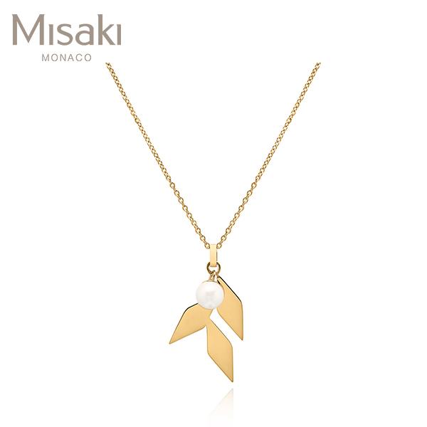 [미사키 MISAKI] QCRPTREEGOLD / TREE GOLD 진주목걸이 타임메카