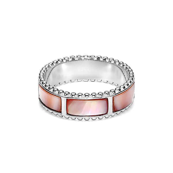 ★-) [미사키 MISAKI] RING SUGAR (QCURSUGAR) 김소은 오윤아 착용 핑크 자개반지