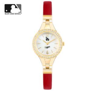 [엠엘비 MLB] MLB300LA-RED 여성용 가죽시계 30mm [본사정품]