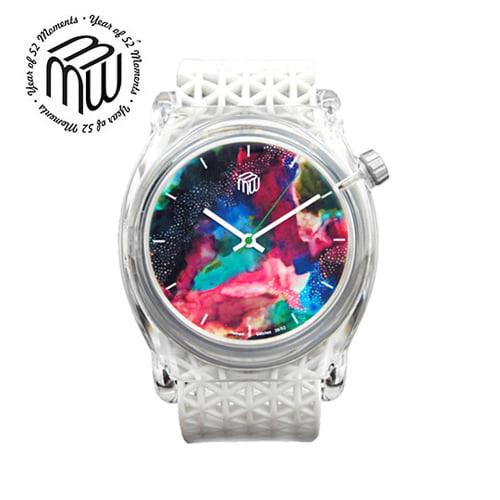 ☆-) [모먼트워치시계 MOMENTS] MW3952 오로라시계/M.I.B 강남시계 44mm