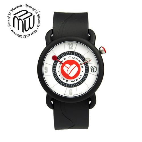 [모먼트워치시계 MOMENTS] MW4752 커피콩시계/유재석시계 40mm
