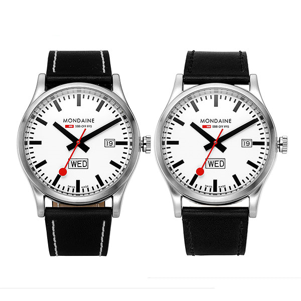 [몬데인시계 MONDAINE] A667.30308.16SBB 41mm / Sport Day Date