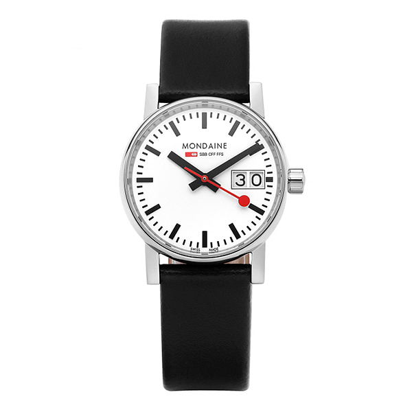 얼마줬스-) [몬데인시계 MONDAINE] MSE.30210.LB / Evo2 Big Date 30mm