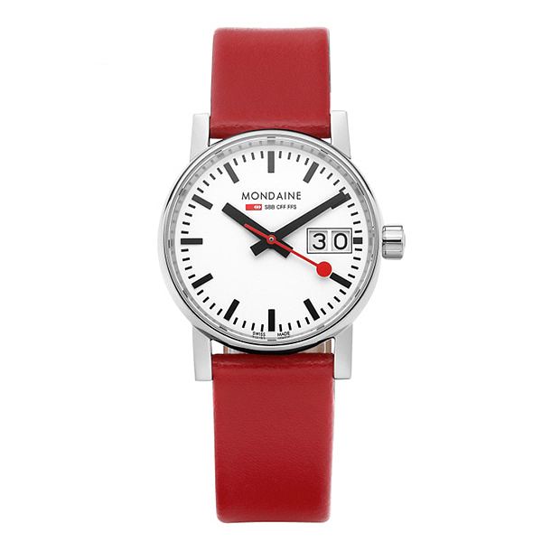 얼마줬스-) [몬데인시계 MONDAINE] MSE.30210.LC / Evo2 Big Date 30mm