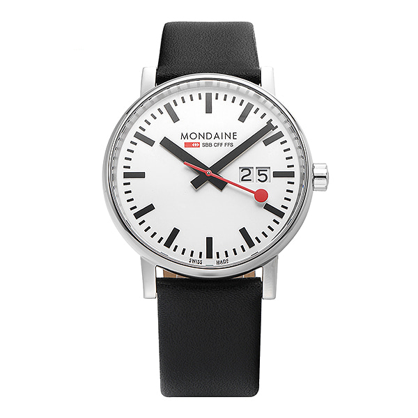 [몬데인시계 MONDAINE] MSE.40210.LB / Swiss Railways Evo2 40mm