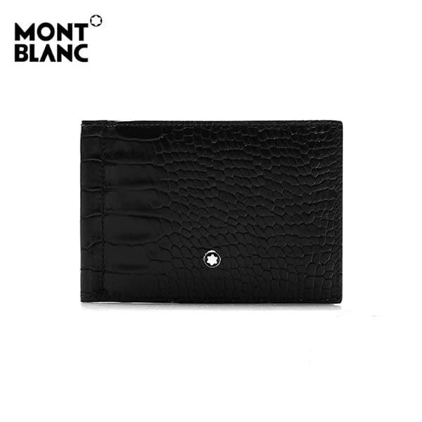 [몽블랑 MONTBLANC] 106015 마이스터스튁 셀렉션 6cc 머니클립