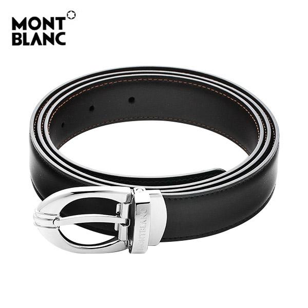 얼마줬스-) [몽블랑 MONTBLANC] 106148 / BLACK&BROWN 클래식 양면벨트