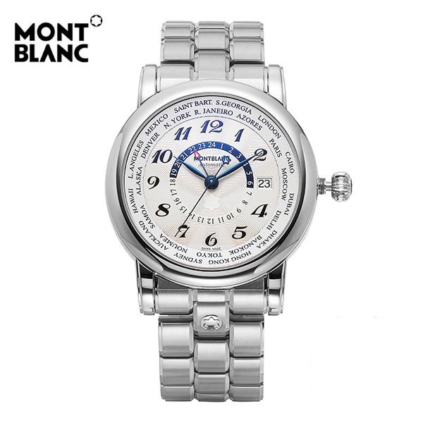 [몽블랑 MONTBLANC] 106465 / 스타 월드 타임 Automatic 남성용 43mm