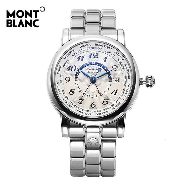 [몽블랑 MONTBLANC] 109286 / 스타 월드 타임 Automatic 남성용 42mm