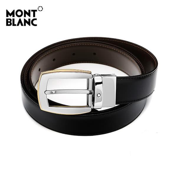 [몽블랑 MONTBLANC] 111081 BLACK&BROWN 클래식 양면벨트