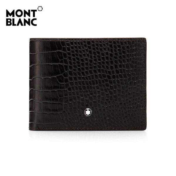 [몽블랑 MONTBLANC] 112615 마이스터스튁 셀렉션 6cc 반지갑