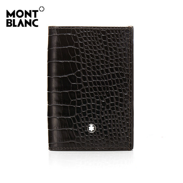 [몽블랑 MONTBLANC] 112616 마이스터스튁 크록 비즈니스 카드지갑