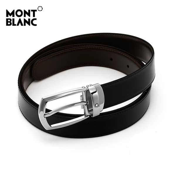 얼마줬스-) [몽블랑 MONTBLANC] 112960 클래식 라인 양면벨트
