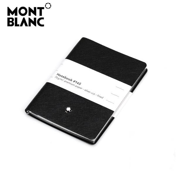 [몽블랑 MONTBLANC] 113295 / 사피아노 #145 라인 노트(블랙)