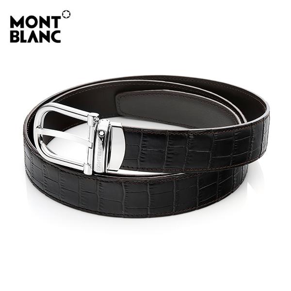 [몽블랑 MONTBLANC] 114391 / 양면 정장벨트